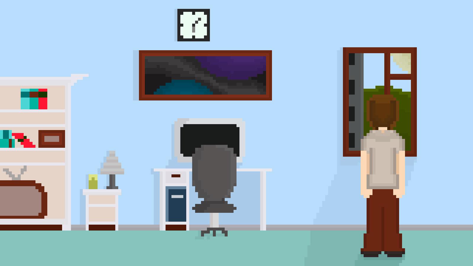 almir sharifullin room pixelart pixel art