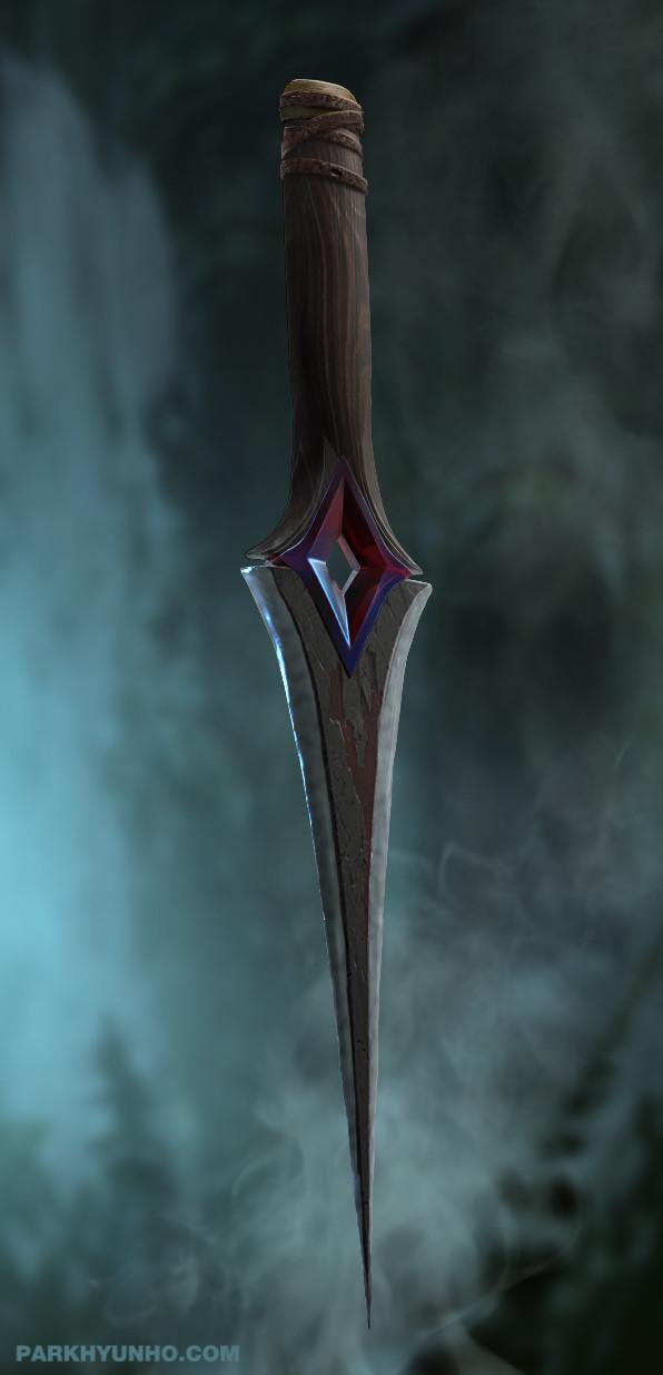 prop design _Dark needle