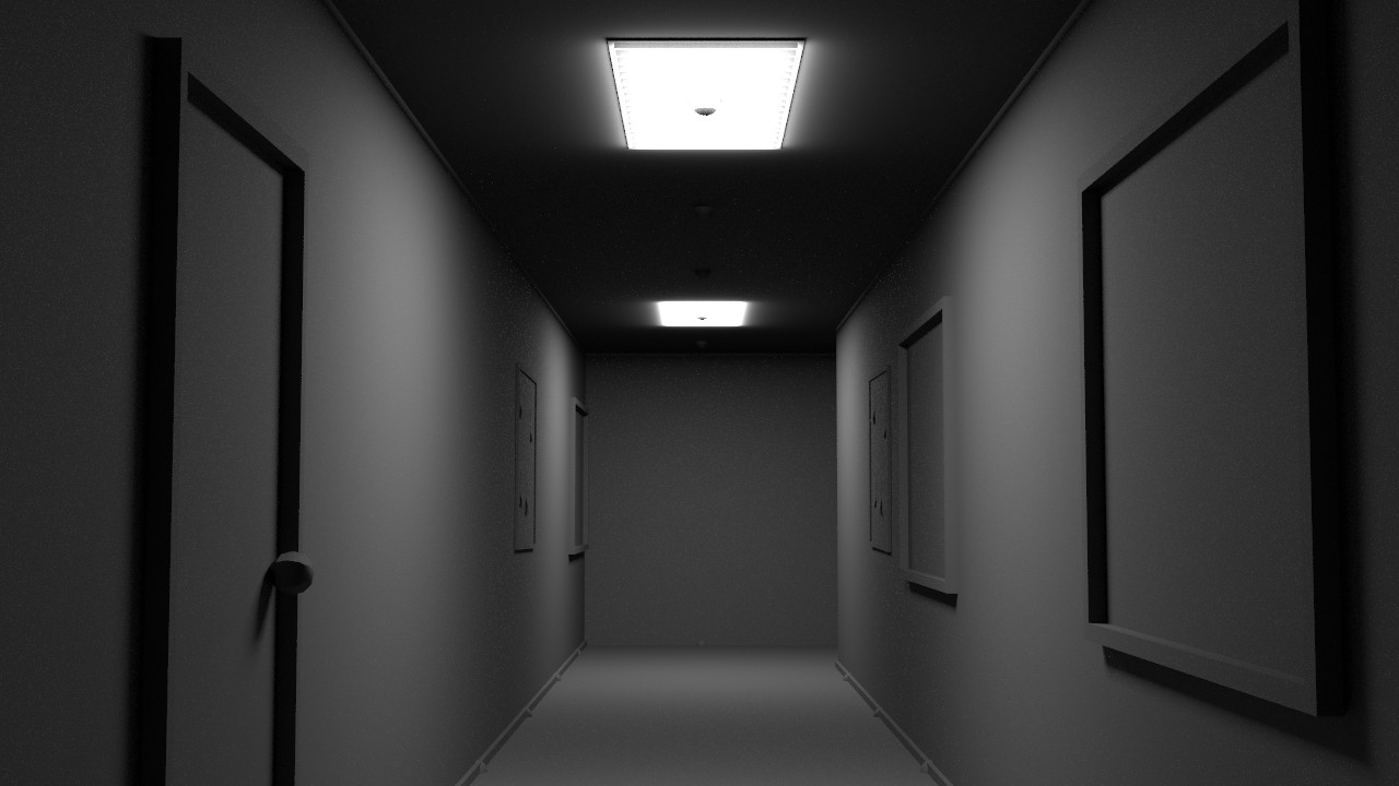 Interior render of the office generator