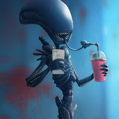 Ivan nikulin alien walking
