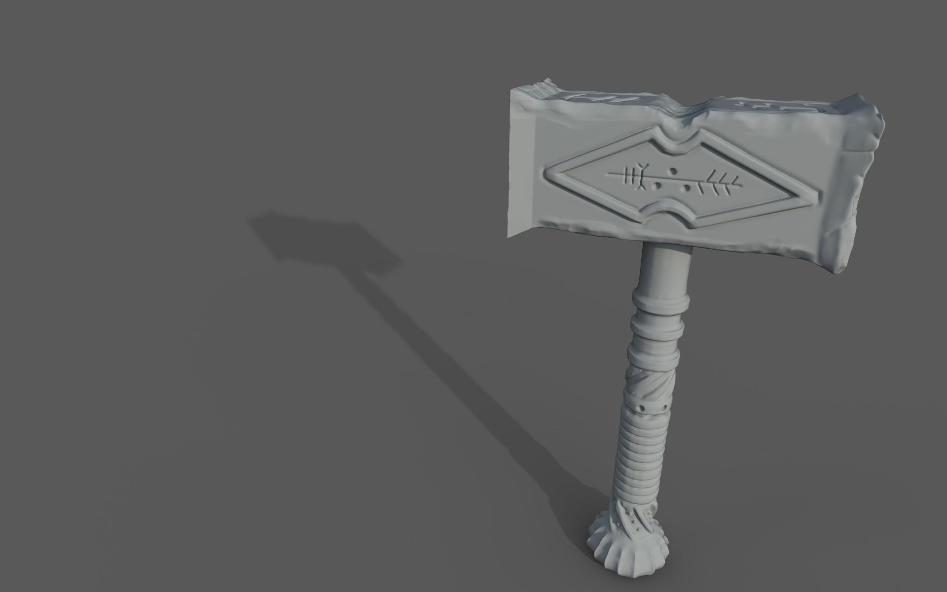 Matej chalachan hammer sculpt