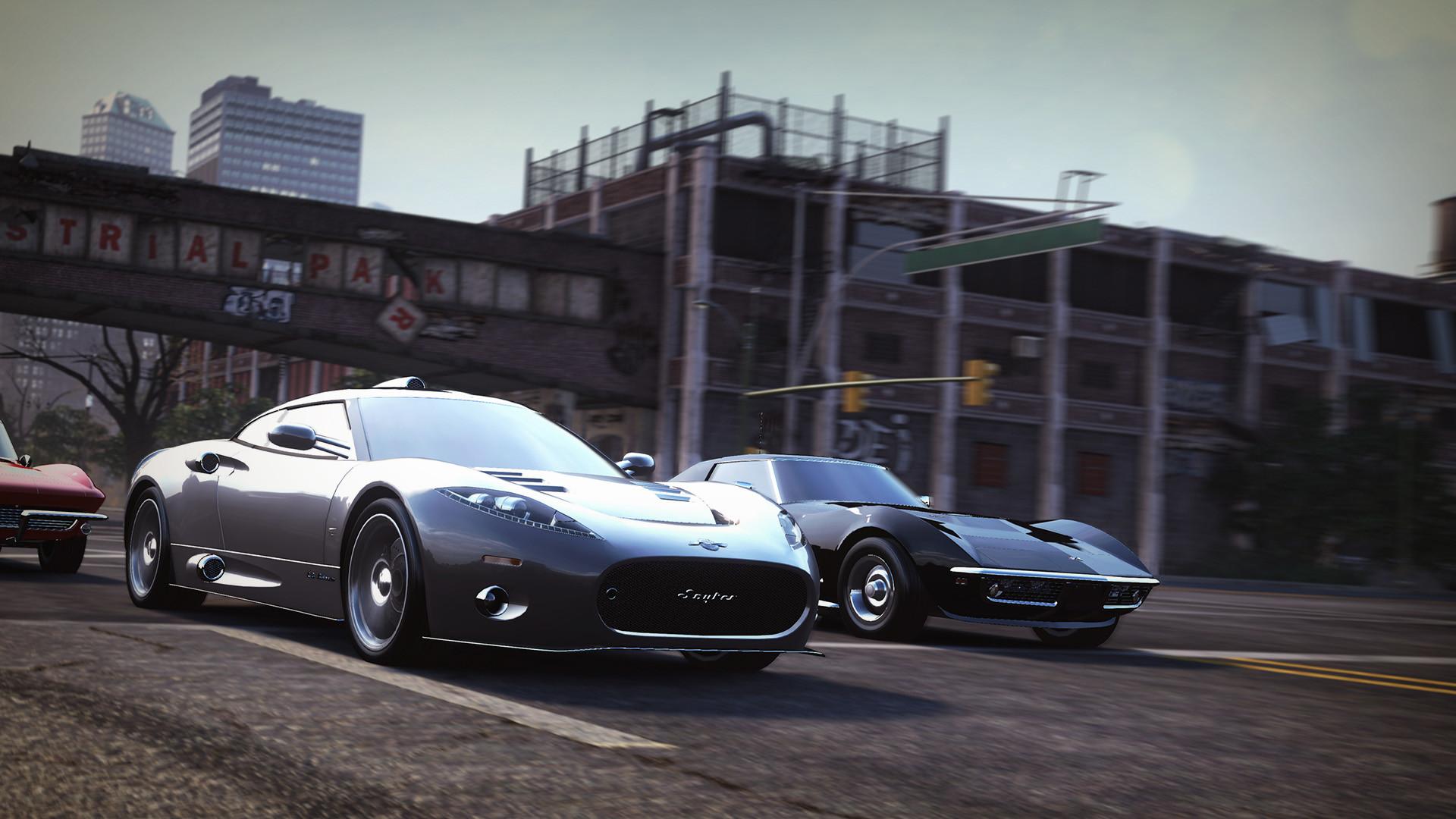 artstation - the crew - realistic car modelling, rabcat game art