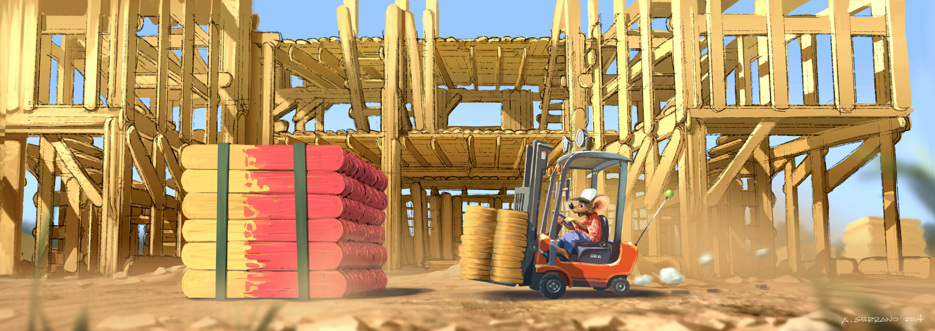 Popsicle Building Site