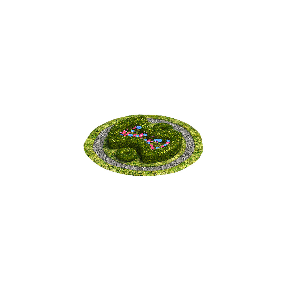 Vitalii samoilenko render flowerbed