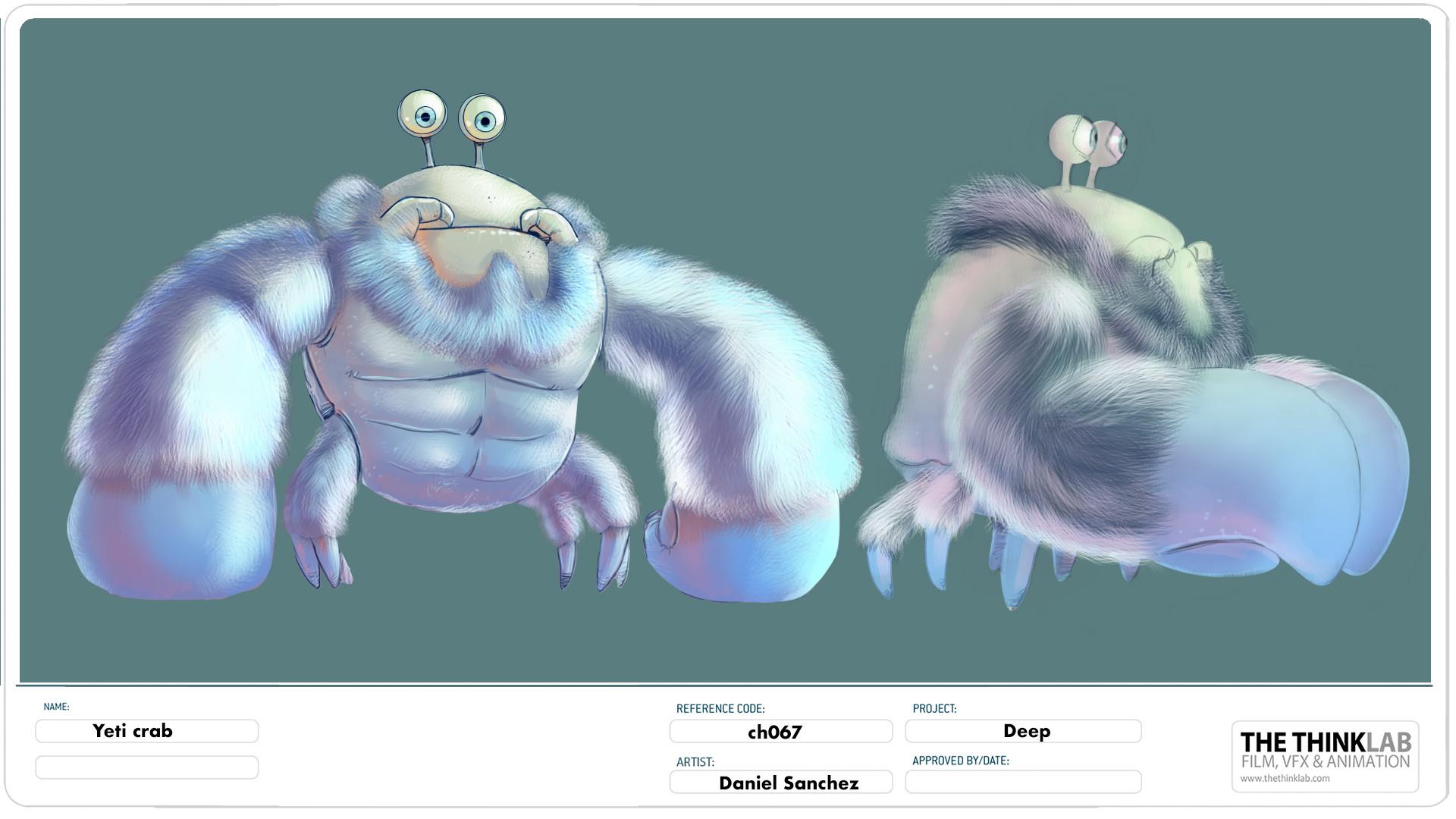 daniel sanchez deep animated movie 2017