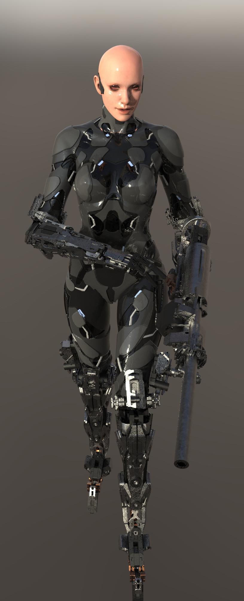 Tek tan robot 553