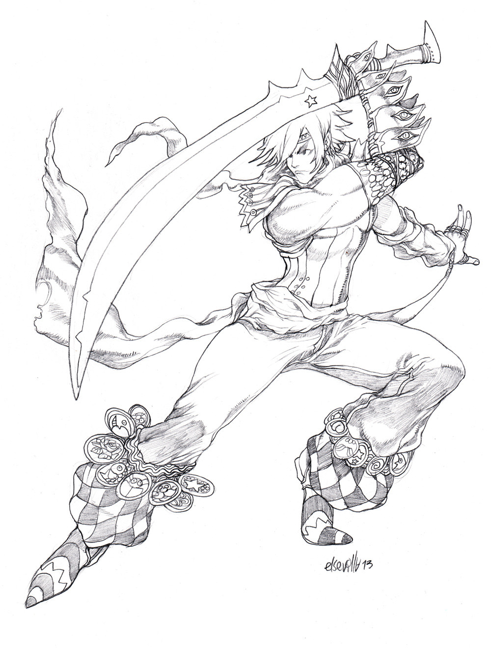 Hector sevilla l sword dancer