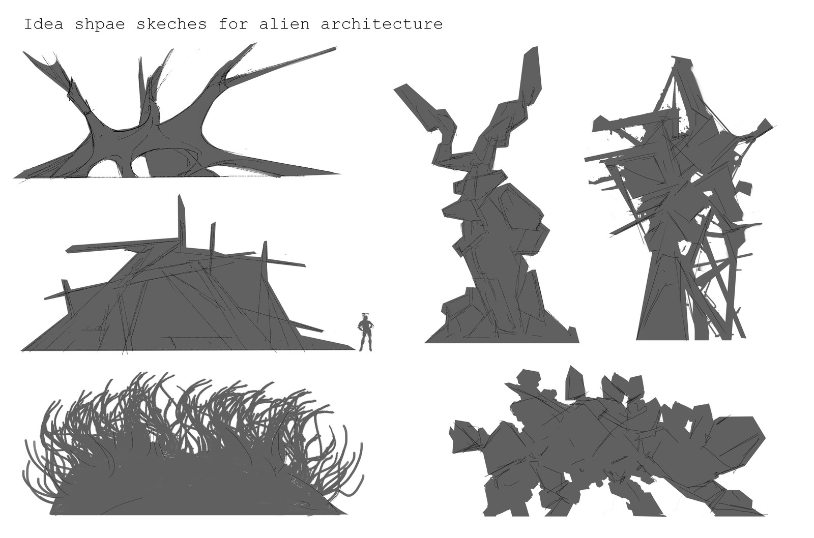sketches for structure