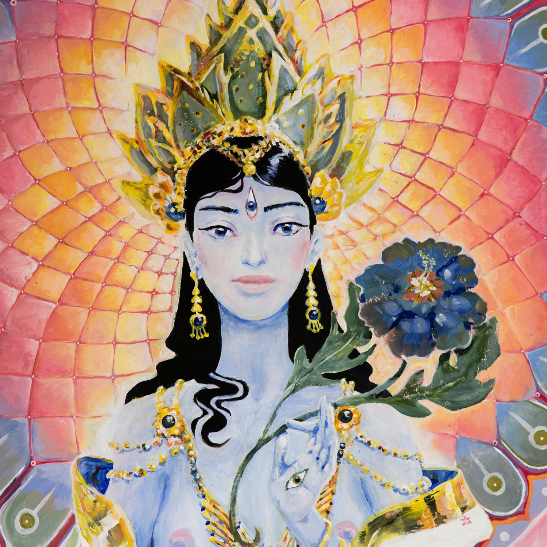 White Tara Closeup