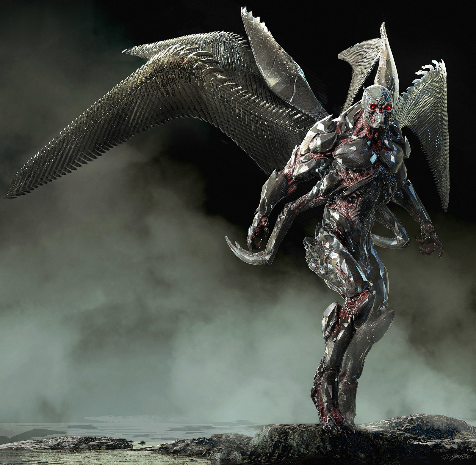 Justice League: Parademon Concept Art