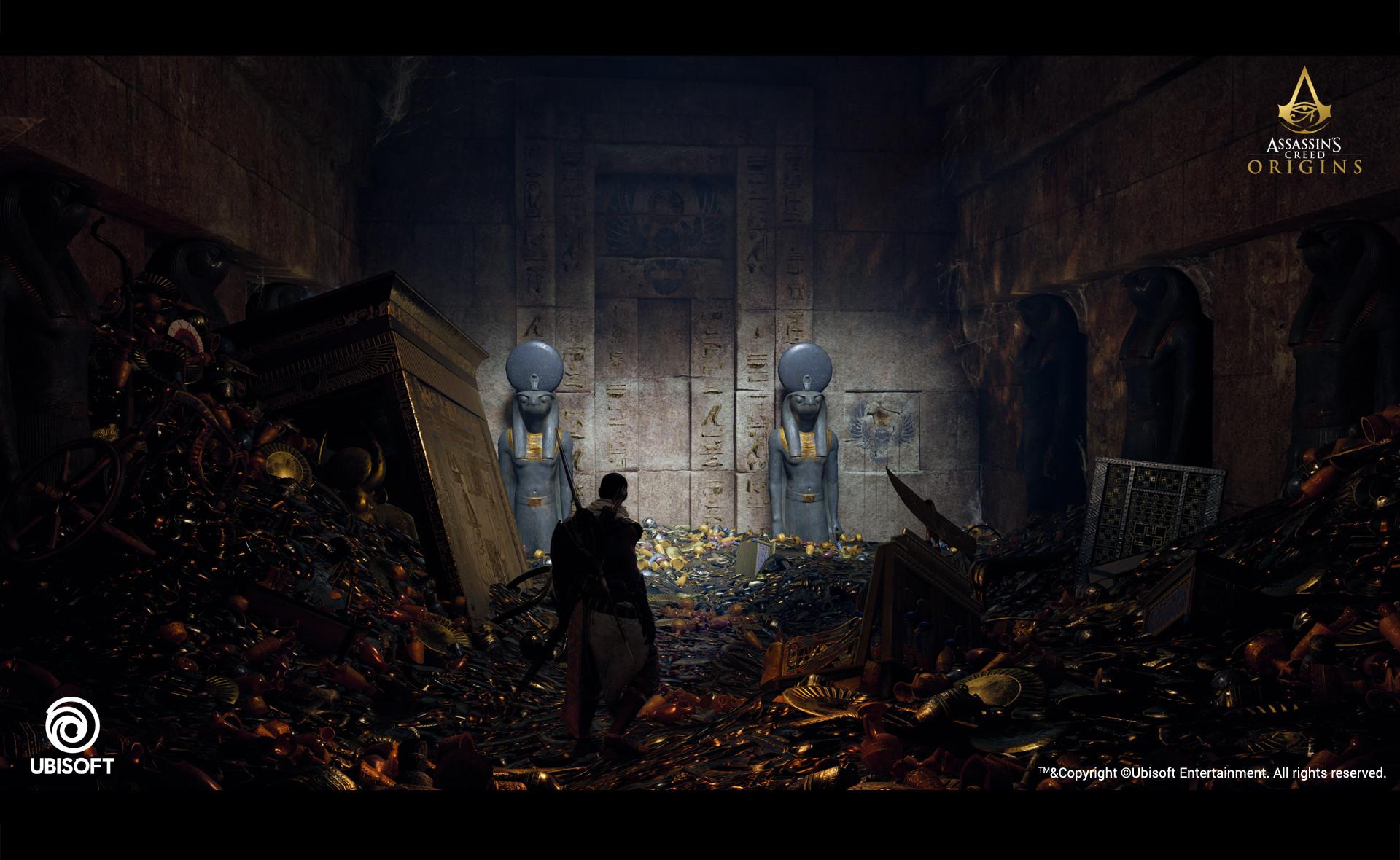 Artstation Assassin S Creed Origins Lighting Works Tomb Of