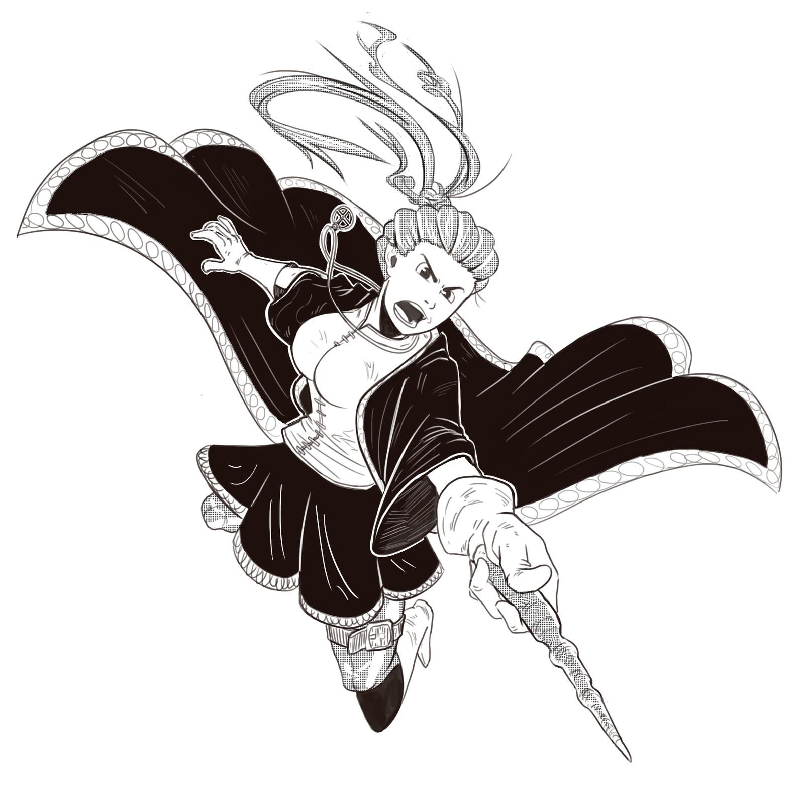 Fantasy Character Sketches 2