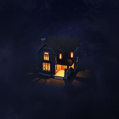 Neil billings blue house 01 by bladien da1erkw