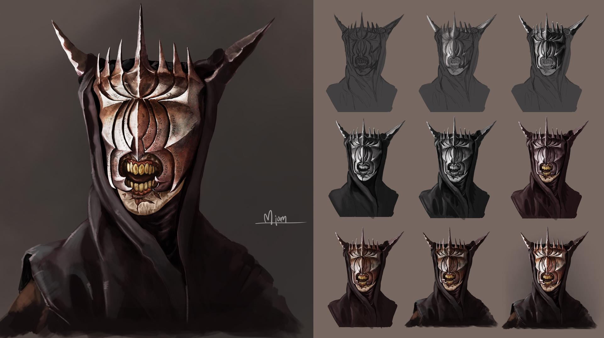 Kyle mjoen mouth of sauron study