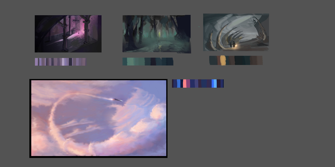 Color Thumbnails 10 minutes each