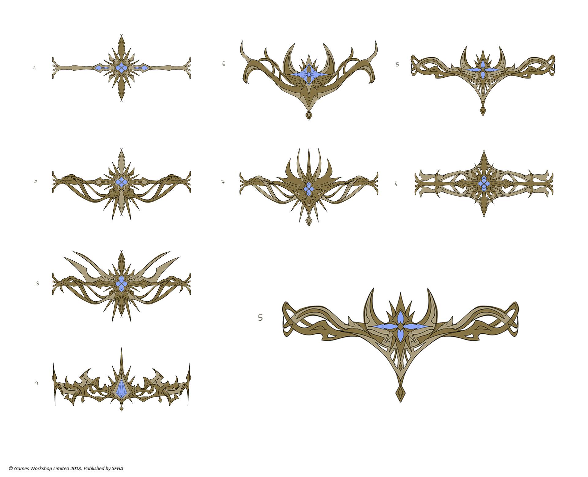 Star Crown designs