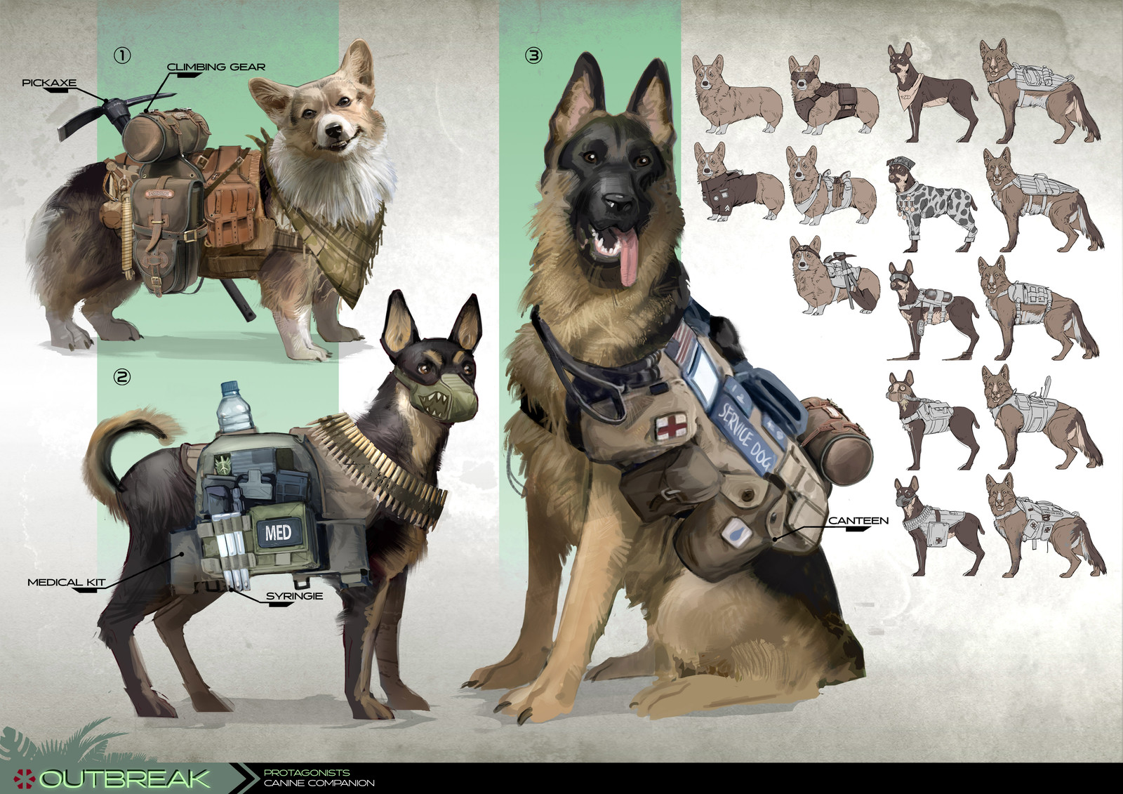 Project Outbreak - Canine Sidekick