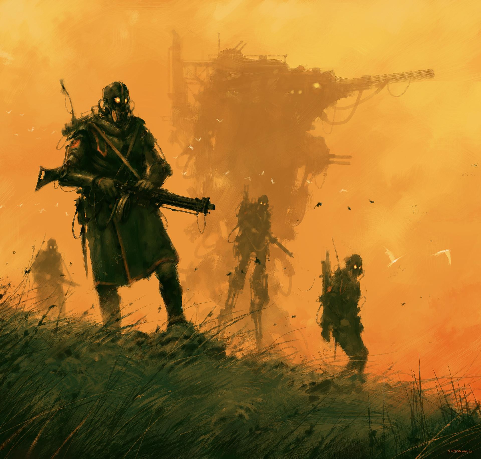 Jakub rozalski combat fenris 12012018s