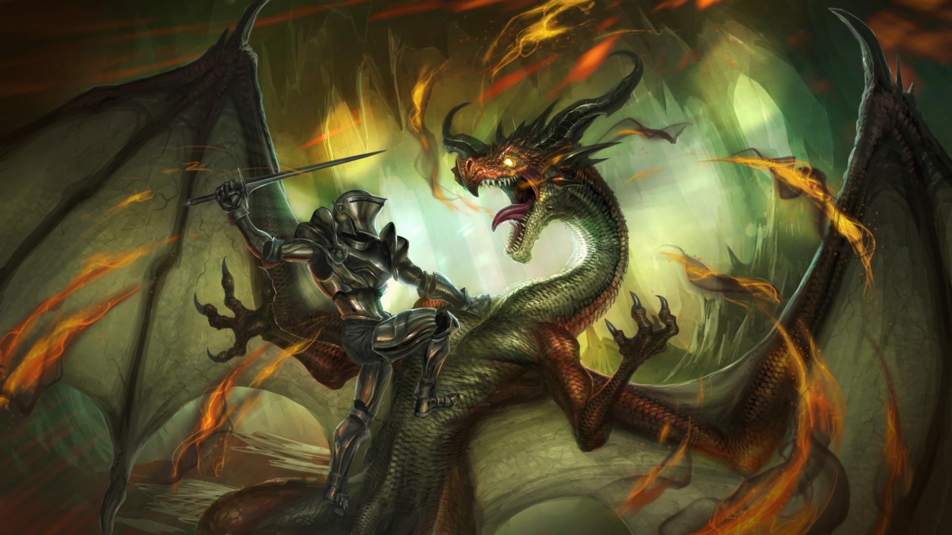картинки нападающие драконы рыцари целеустремленность