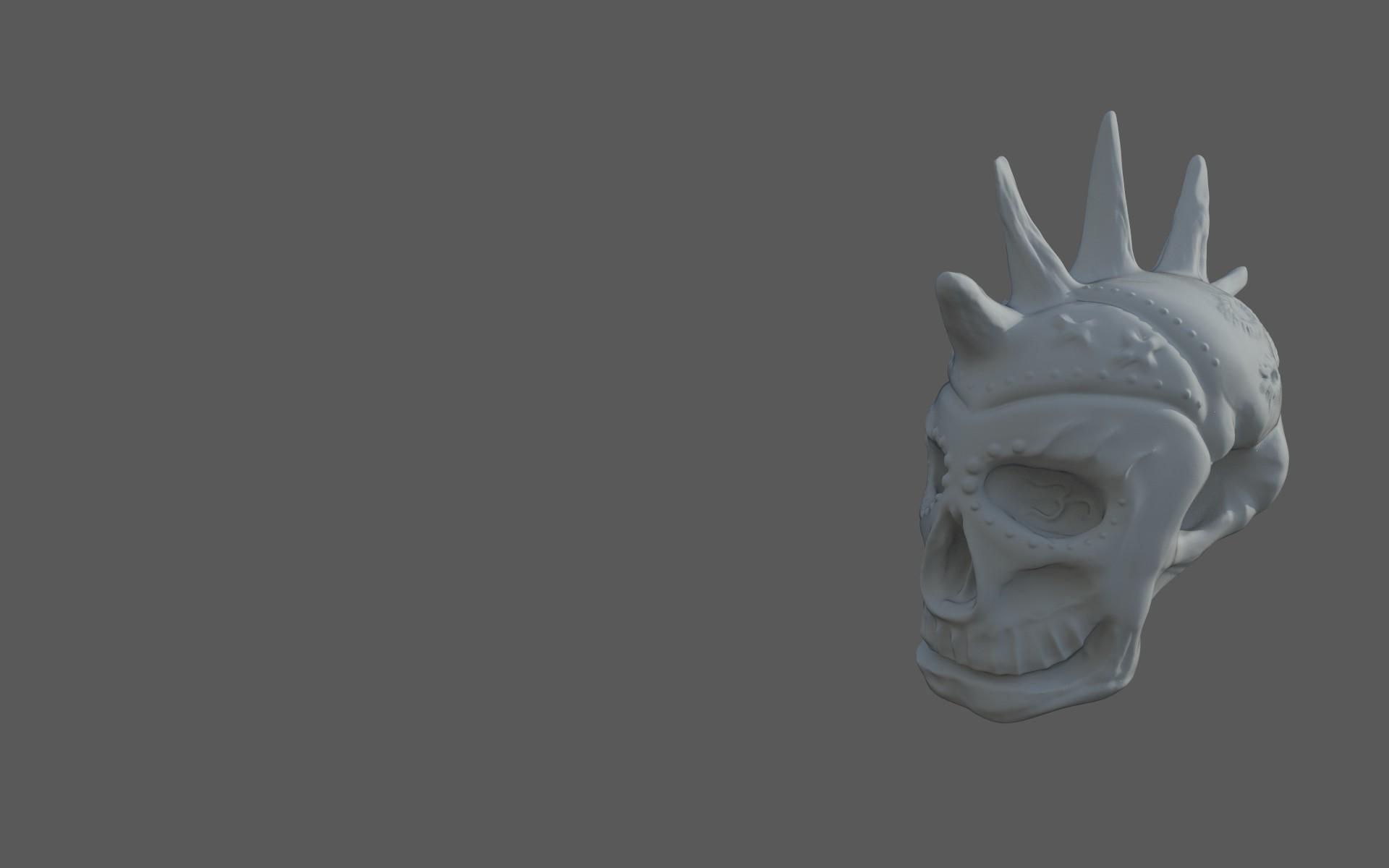 Matej chalachan skull sculpt