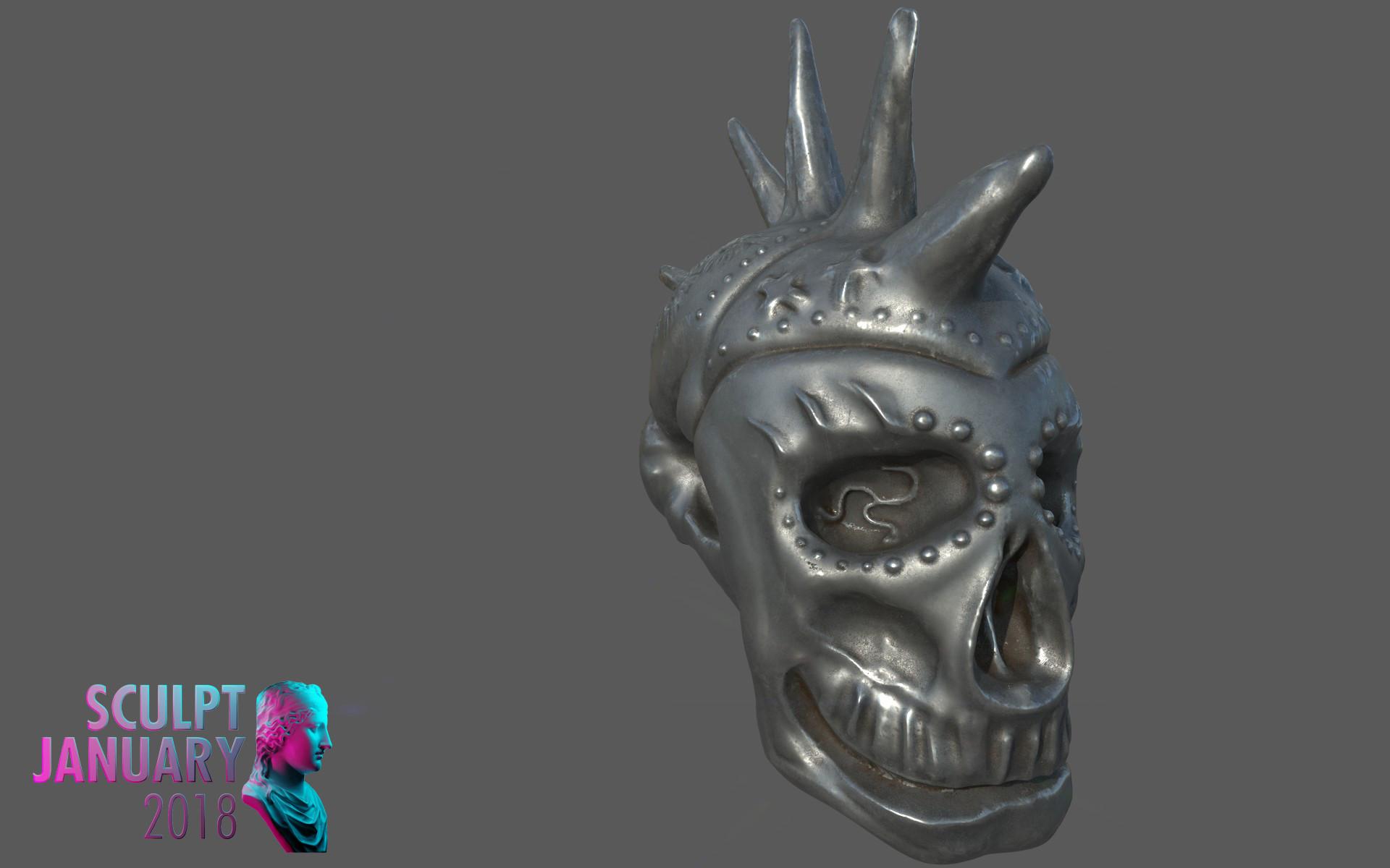 Matej chalachan skull material2