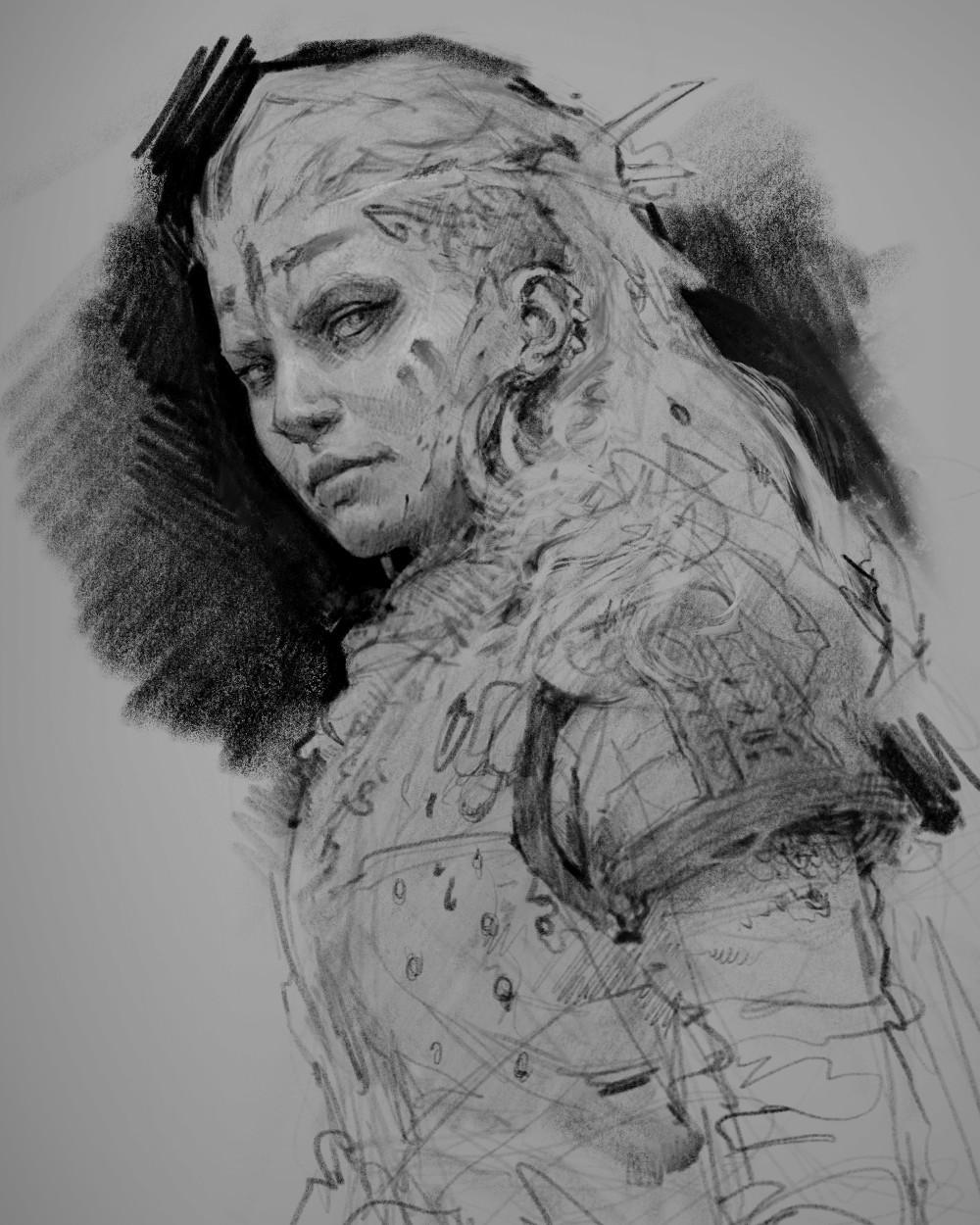 Aaron griffin viking woman