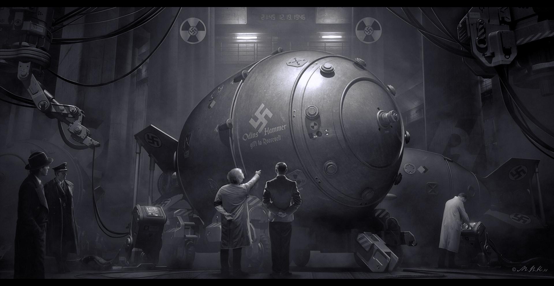 Vladimir manyukhin wolfenstein 2 the new colossus4