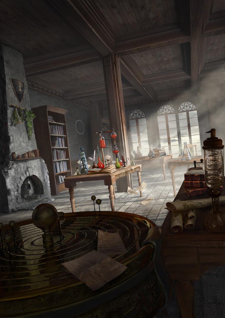 artstation alchemy lab peter rossa