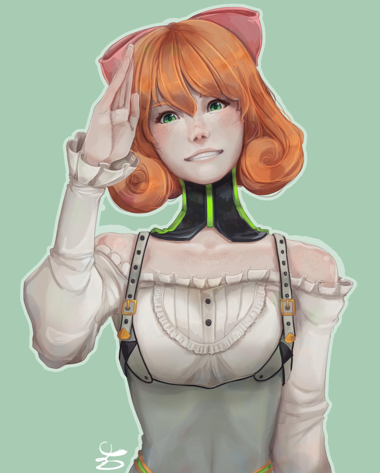 Artstation Penny Polendina Maki S Atelier Like many people penny is my fave character. artstation penny polendina maki s