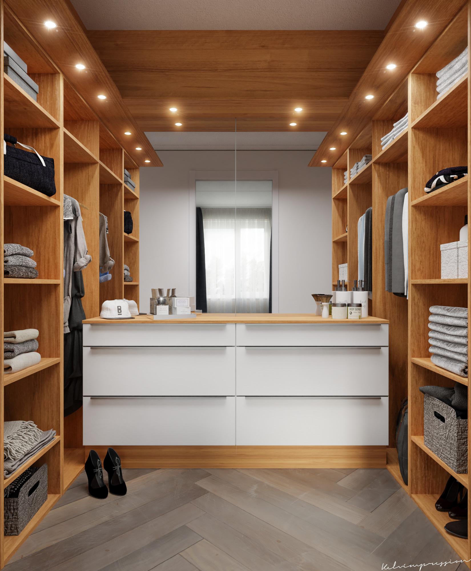 Inloopkast Walk In Closet.Kelvin Leusink Small Walk In Closet