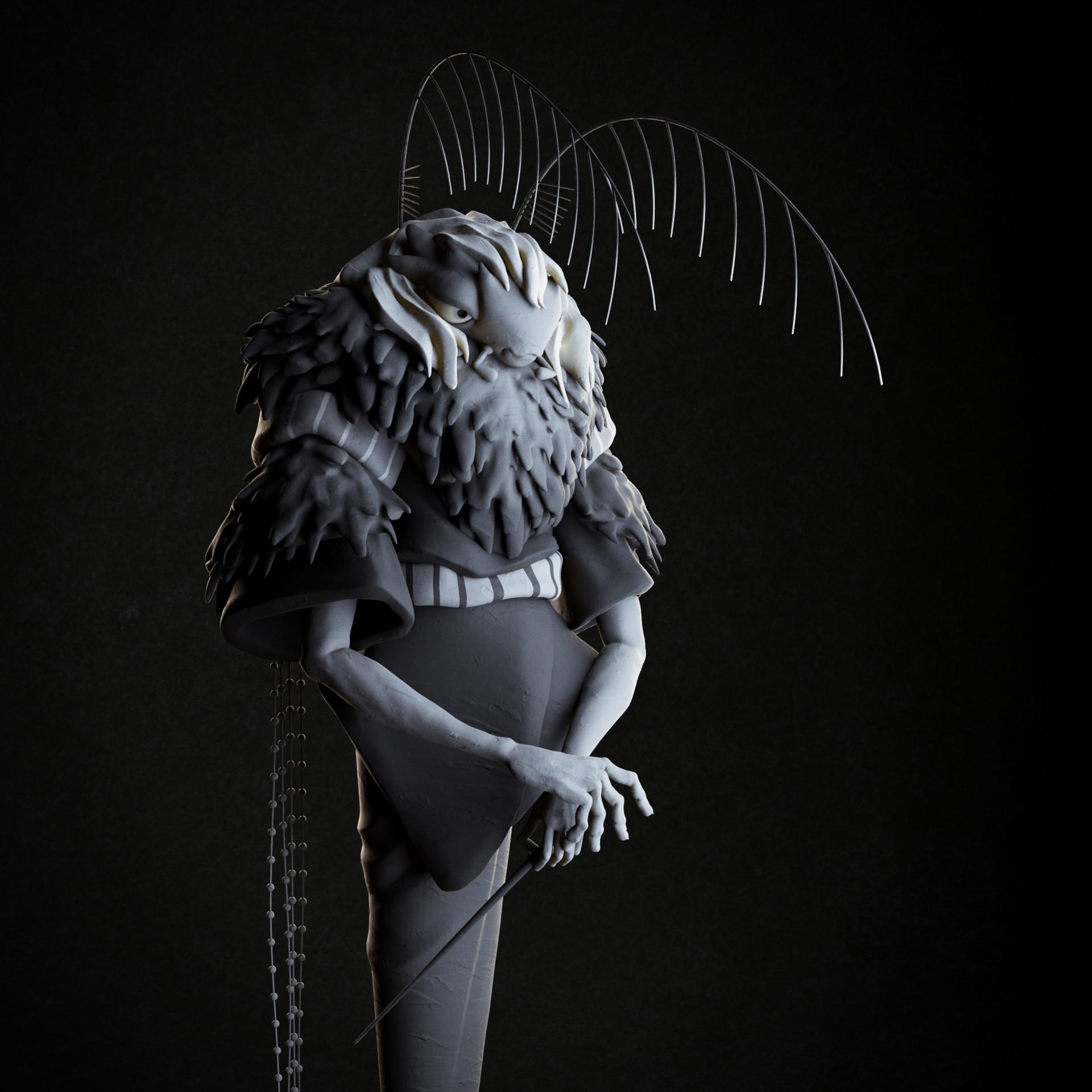 Day 14: Magic (based on an artwork by Lalanda Hruschka: https://www.artstation.com/artwork/vYOga)