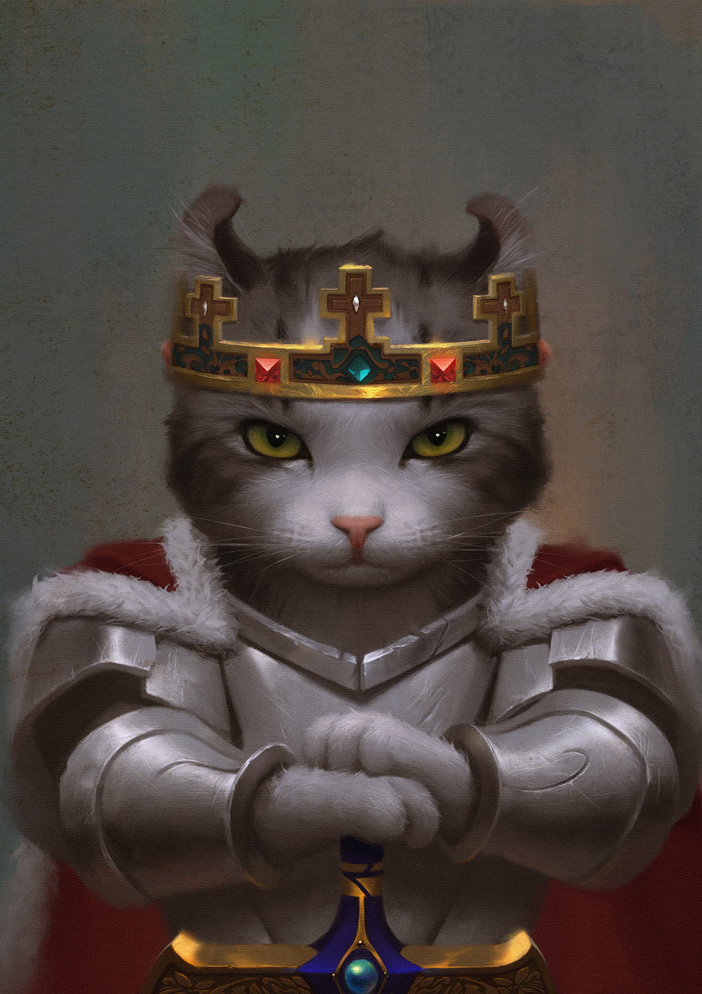 Weiss Hunt King Arthur Cat