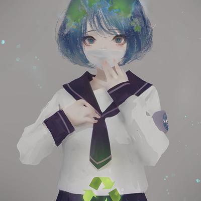 Aoi ogata earth chan