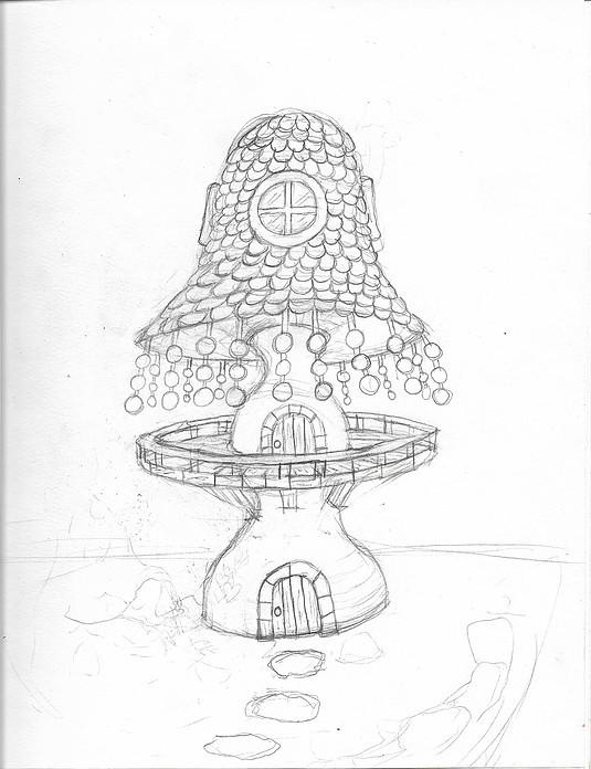 Line sketch concept