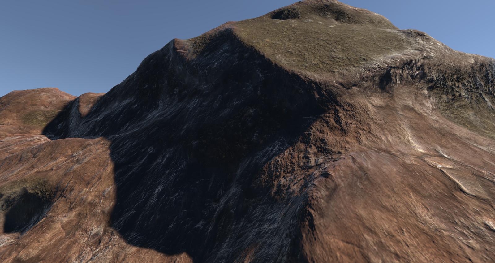 Tri-Planar Terrain Splat Shader