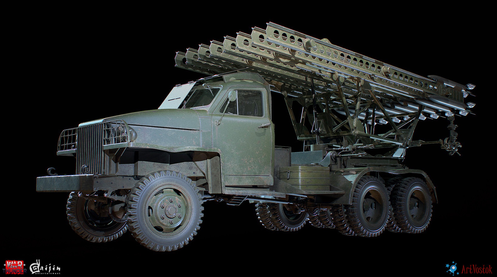 ArtVostok studio - BM-13N Katyusha rocket launcher