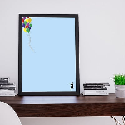 Rajesh r sawant lost baloon frame