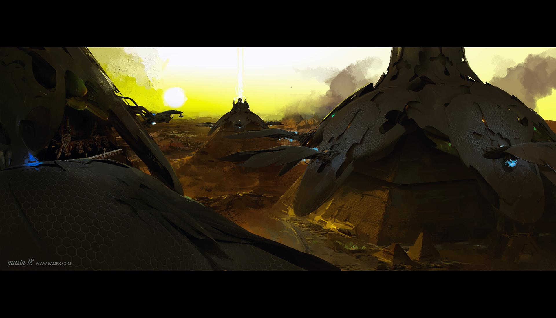 Sergey musin shiva fleet over the pyramids ver2 2