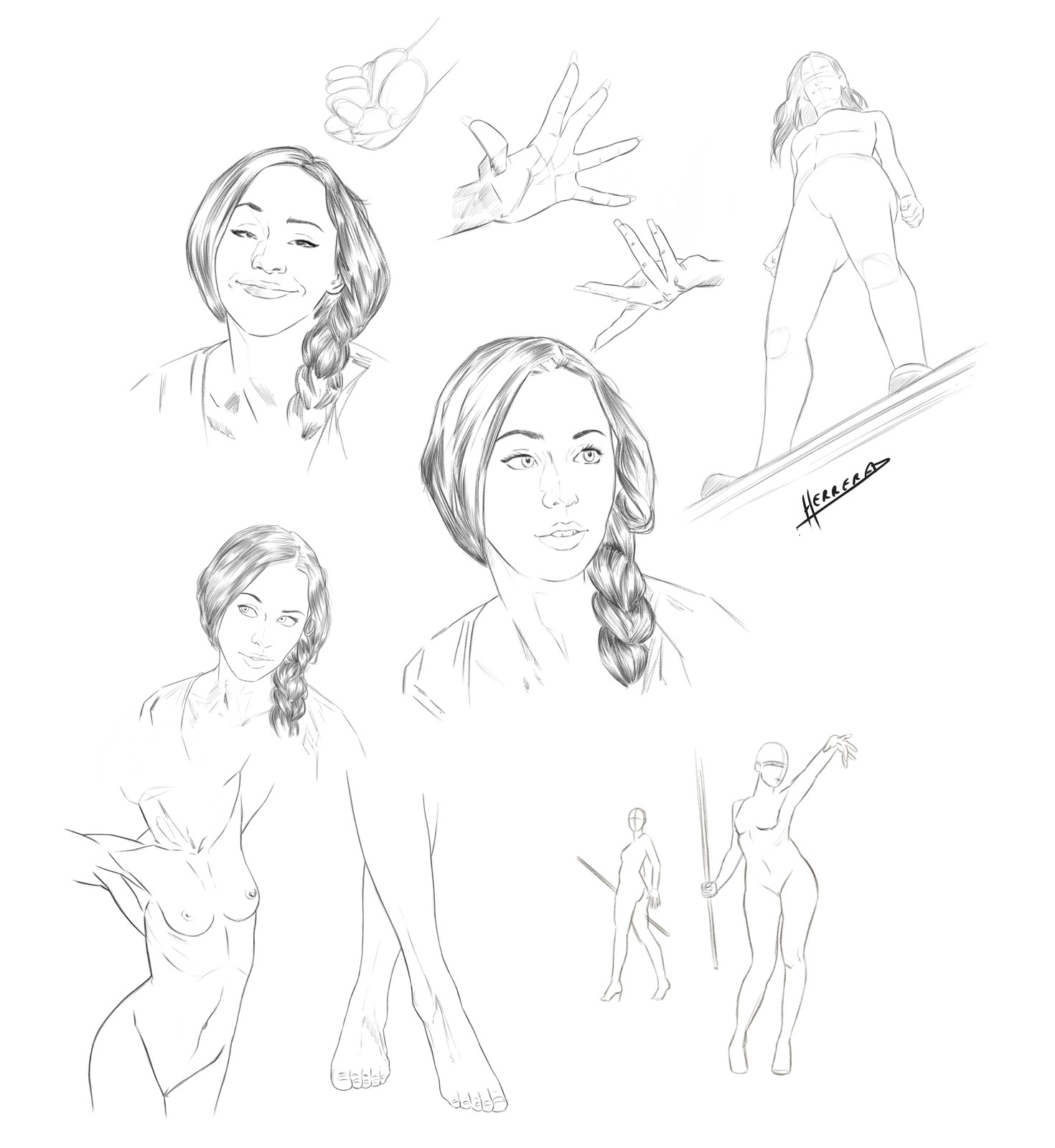 Woman Sketches