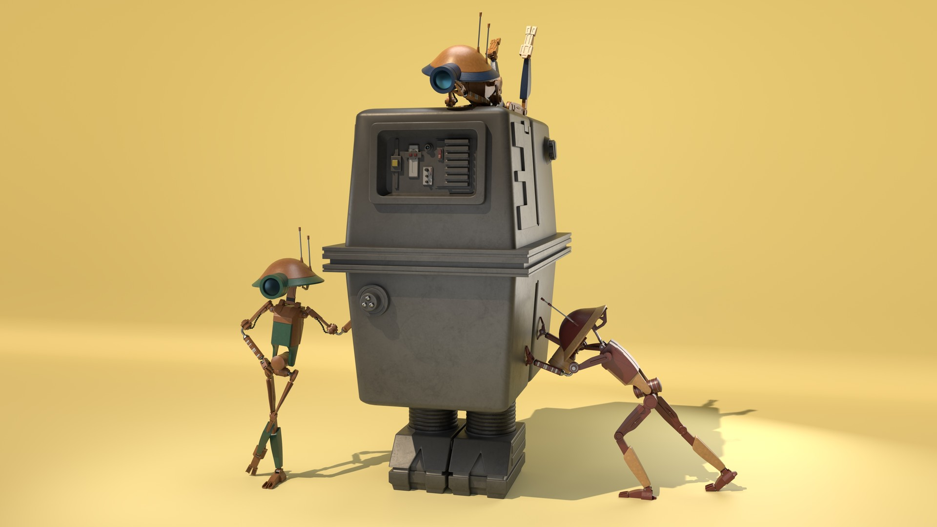 Andrew moore droids 4k