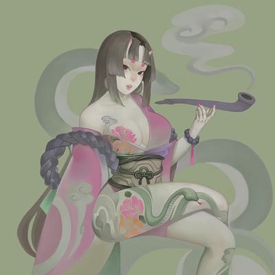 Darkghost humanoid girl 191017 08