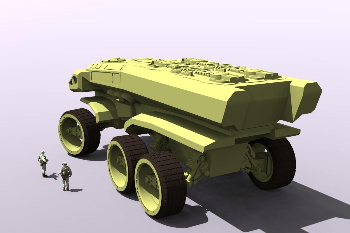 German impache t tank render2