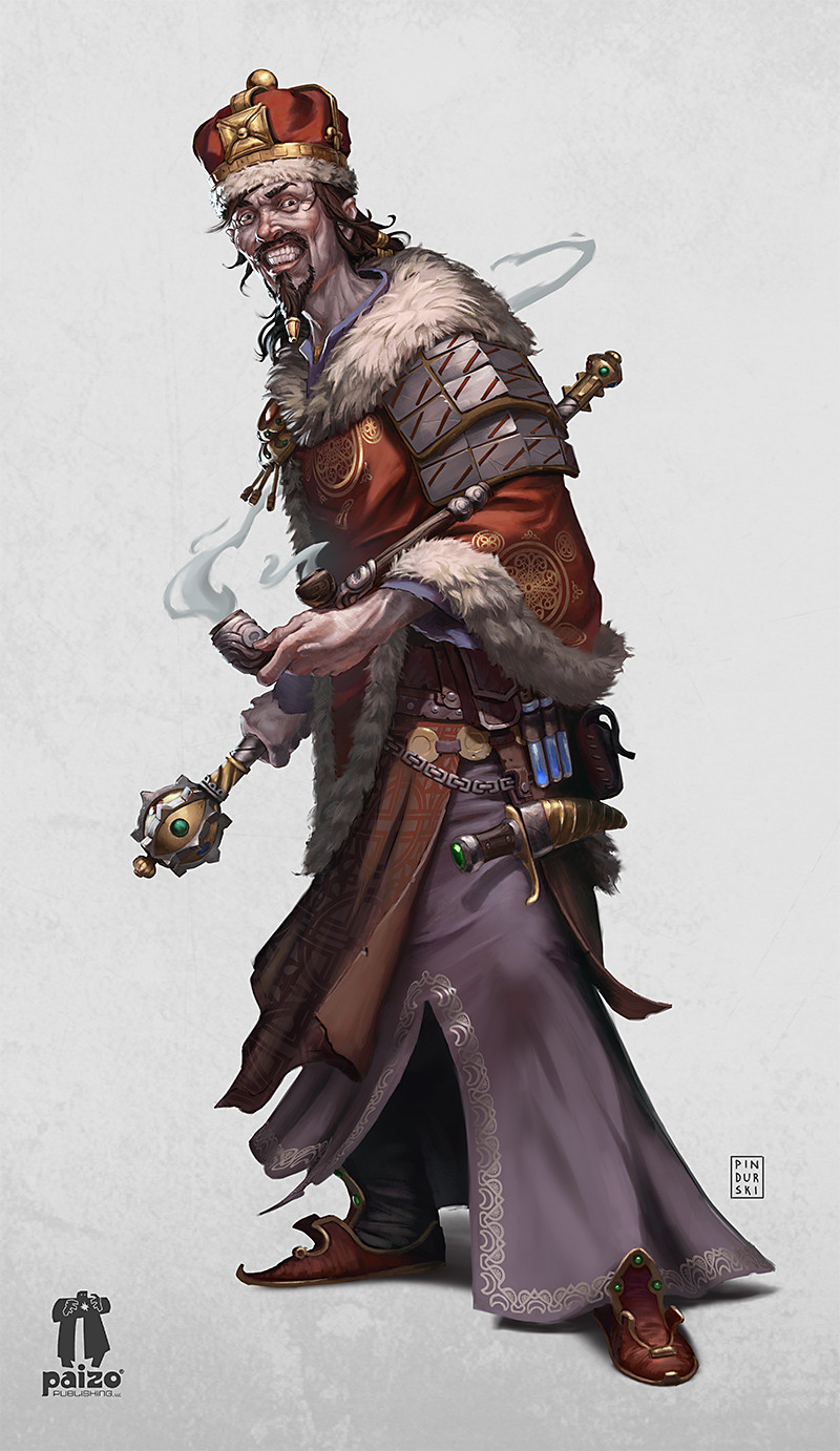 ArtStation - Pathfinder character: Grand Prince Stavian ...
