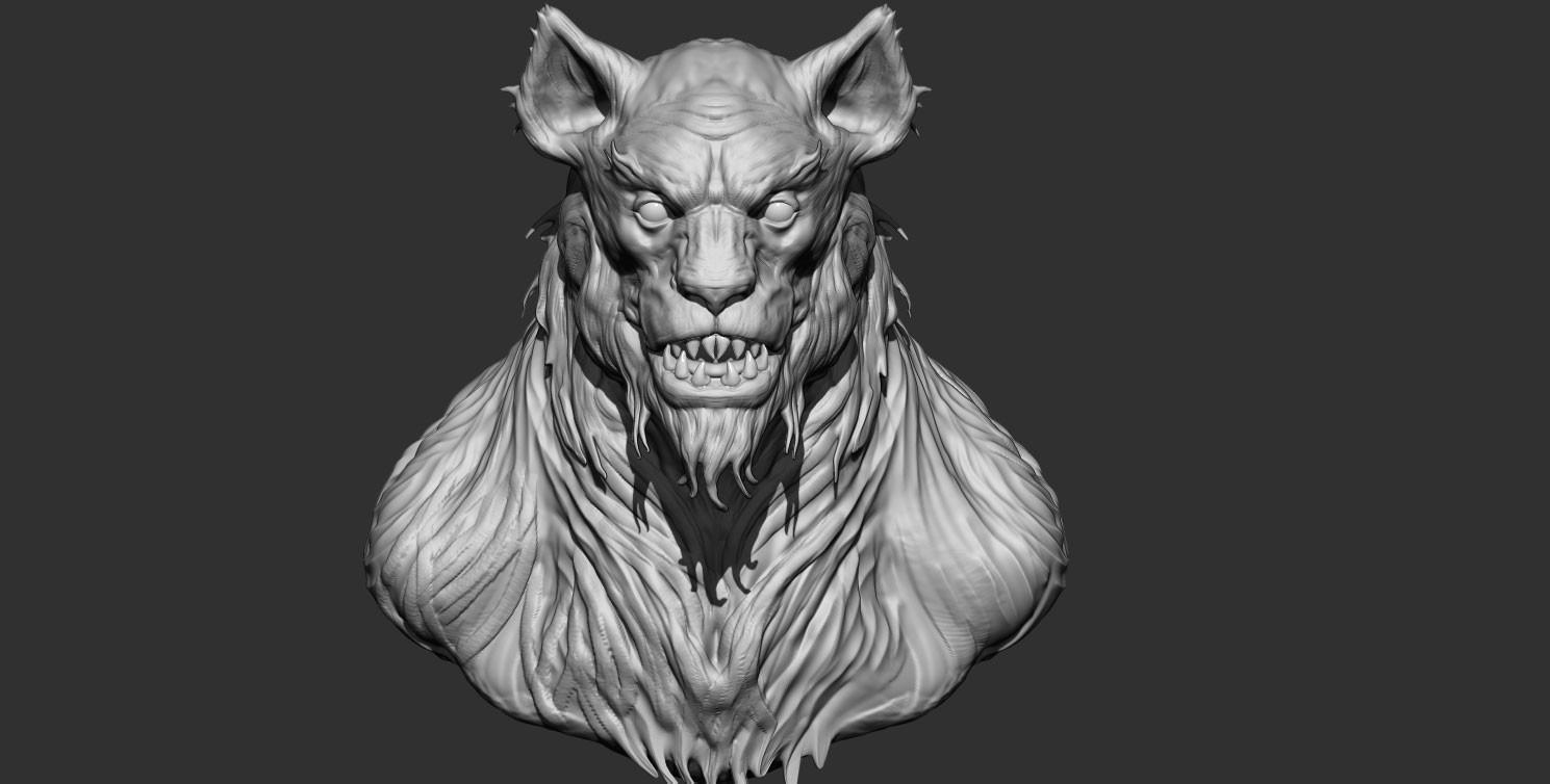 Werewolf quick sketch