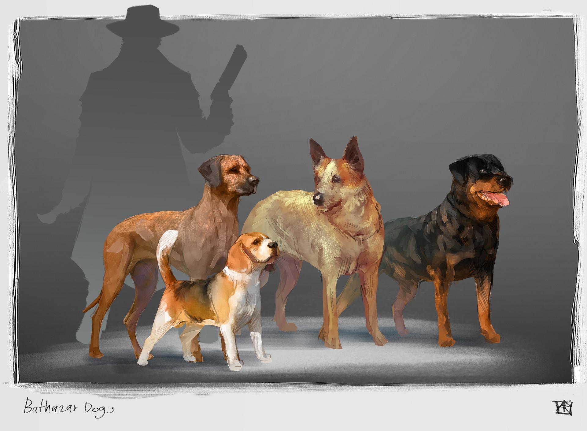 Alejandro arevalo balthazar dogs