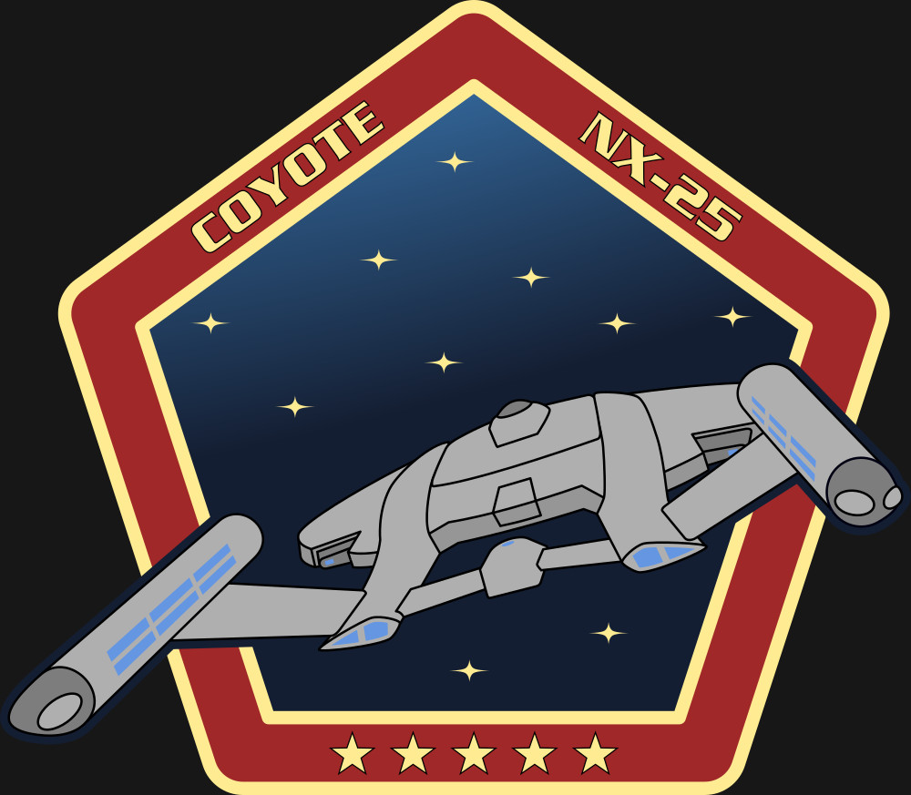 The patch for the NX-25 Coyote,this done as a paid commission for a DeviantArt user