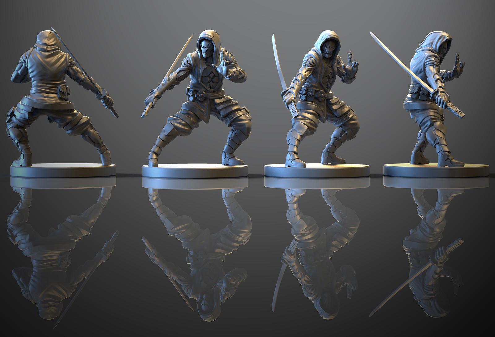 Primewarp:Genesis - Ninja miniature