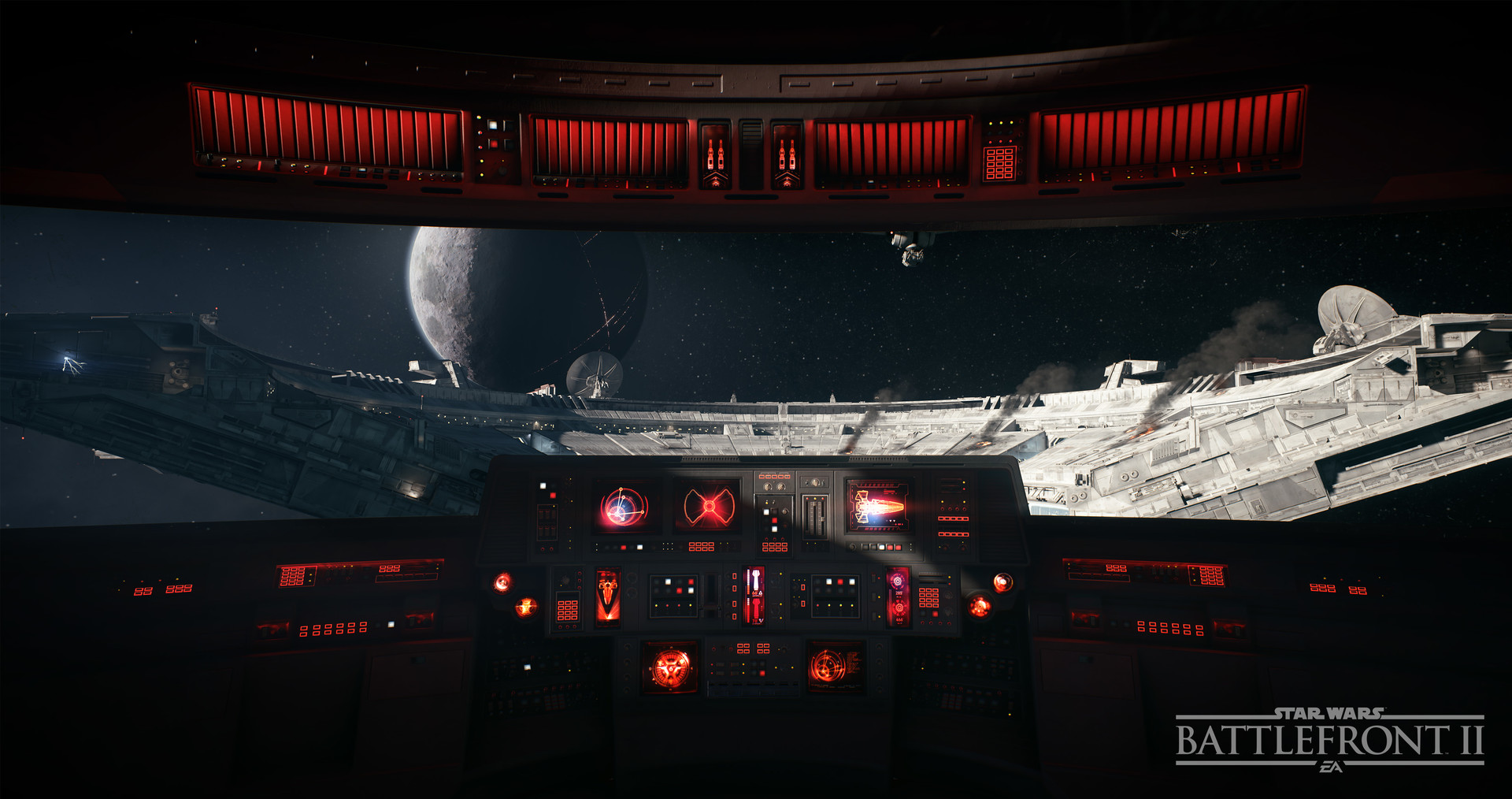 In Game view of the cockpit