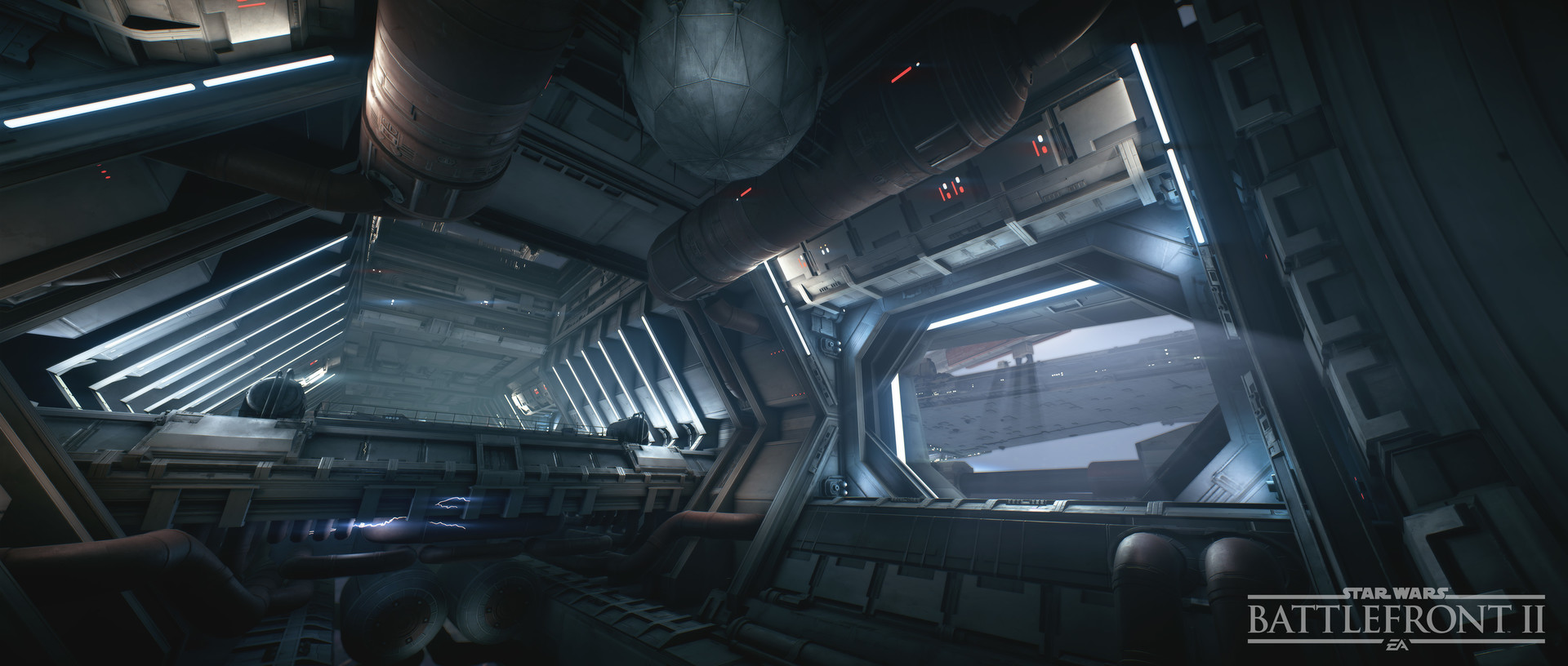 In Game view of interior