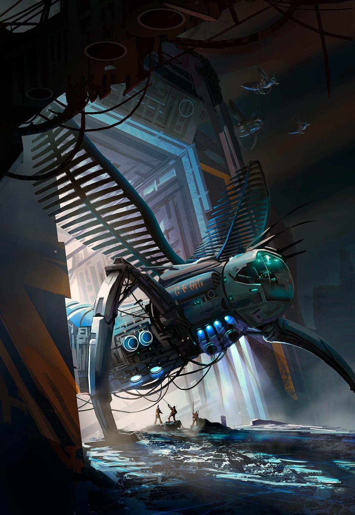 Nicolas chacin spaceinsectship